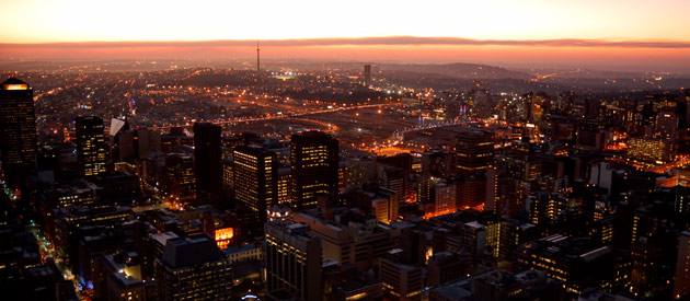 Midrand, in central Gauteng in South Africa